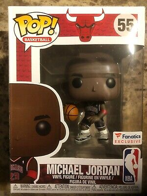 Funko POP NBA  Chicago Bulls Michael Jordan Fanatics Exclusive Confirmed  #55