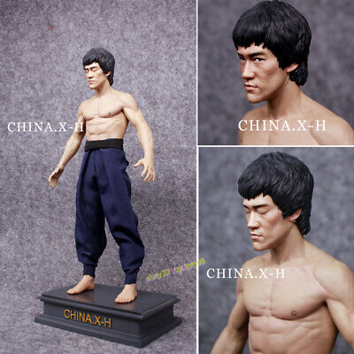 CHINA. X - H 1/6 Bruce Lee Action Figure Model Statue Limited 300 IN STOCK UPS