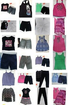 Girls Size 14/16 Summer Clothing, Shorts, Tops, Skirt, Clothes LOT, Justice