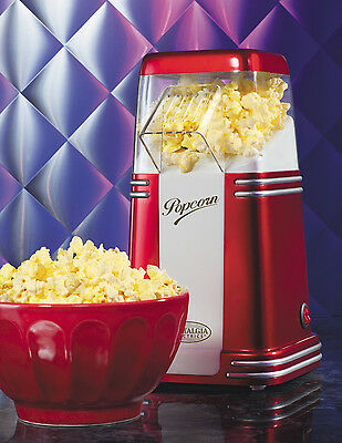 Retro Series  50's Style Hot Air Popcorn Popper - Nostalgia RHP310