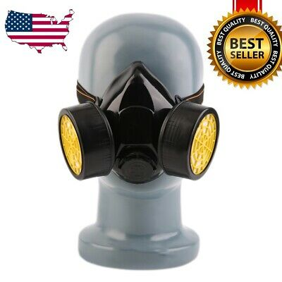 High Grade Anti-Dust Paint Respirator Mask Gas Safety Chemical Paint Spray Mask