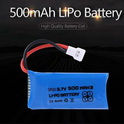 High Quality LiPo Battery 3.7V 500mAh 25C Rechargeable for RC Car Airplane Drone