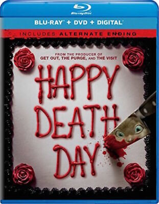 Happy Death Day (Blu-ray+Dvd+Digital) NEW SEALED