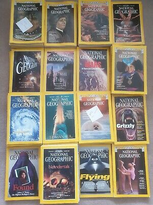 200 National Geographic magazines. MIXED. Vintage Antique 60s 70s 80s 90s