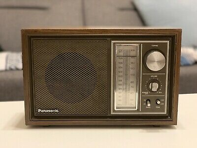 Panasonic Am-Fm Table Radio Model Re-6289 Tested