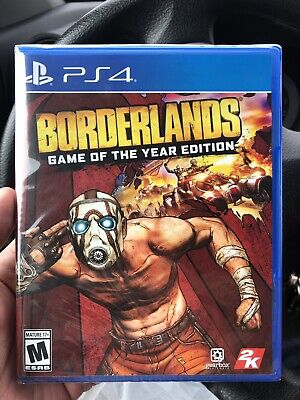 Borderlands Game of the Year Edition PlayStation 4 PS4 Rare Sold Out Free ship