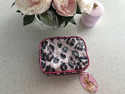 Peter Alexander Small Cosmetic Case Leopard Print