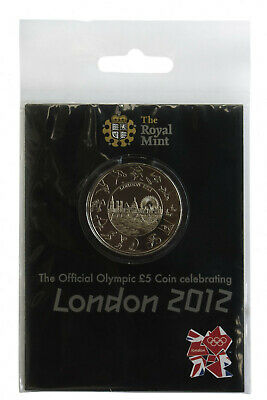 2012 London Olympic Games Five Pounds Coin BU in Pack £5 UK