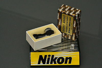 nikon right angle viewing attachment, mint, boxed, top