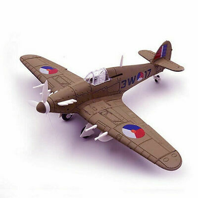 1:48 Scale British Hurricane Fighter Aircraft Assemble toy Model Kit 1PCS/6