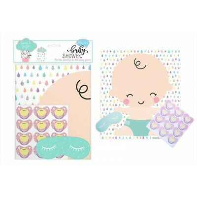 Baby Shower Party accessories - PIN THE DUMMY ON THE BABY GAME FS816