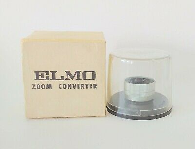 Boxed + Bubble Cased Elmo Zoom Converter 18mm f/1.4 Lens