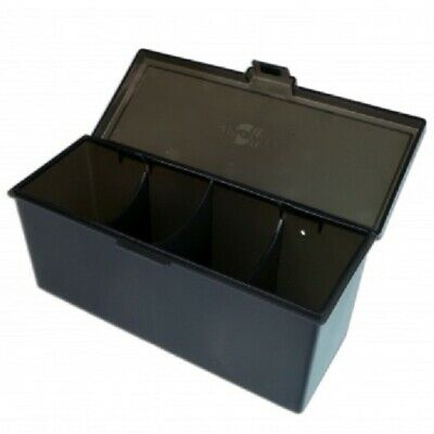 Blackfire Storage Box Black Nero Contenitore Per 320 Carte 4 Scomparti - Bf07462