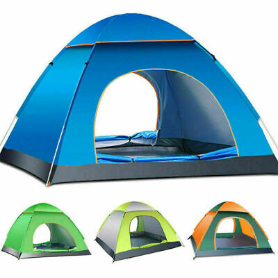 3 - 8 Man Person Camping Tent Waterproof Room Outdoor Hiking Backpack Fishing