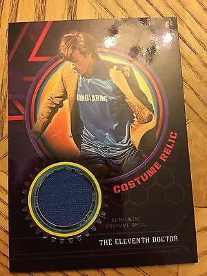 Topps Doctor Who Extraterrestrial 2016 Purple Costume 24/50 Eleventh Doctor