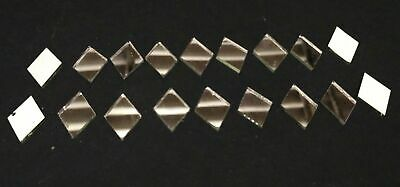 15*11 mm Diamond Silver Craft Glass Mirror Mosaic Hand Cut Stained Tile Deco A9