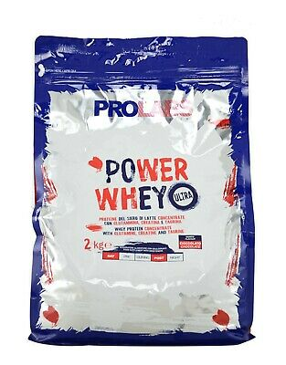 Prolabs Power Whey Ultra 2kg Proteine siero di latte con creatina e taurina