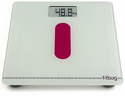 Fitbug WoW Bluetooth iPhone Android Digital Body Weight Bathroom Scales - NEW