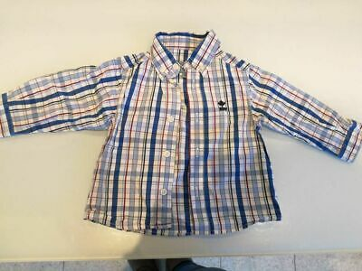 Chemise River Woods, taille 6 mois