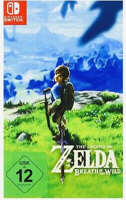 Legend of Zelda Breath Of The Wild Nintendo Switch [German Cover] New & Sealed