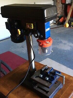 Bench Pillar Drill Electric Press Tower Drilling Machine Power Crft
