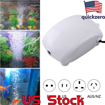 Aquarium Air Pump Fish Tank Oxygen Air Pump Silent Fish Aquatic Supplies Pond