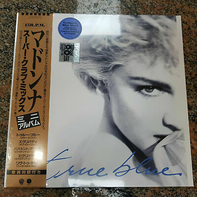 "Madonna ' True Blue - Super Club Mix 12"" Ep On Blue Vinyl, RSD 2019"