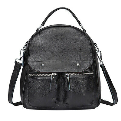 Special Offer Genuine Cow Leather Women's Backpack Cowhide Double Shoulder  Bag