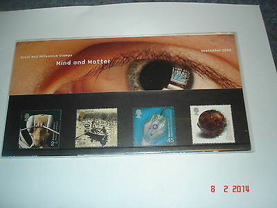 33)Great Britain Presentation Pack Mind and Matter Sept 2000