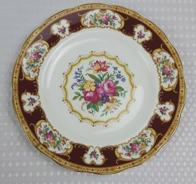 Royal Albert Lady Hamilton Bone China 26cm Dinner Plate -Small Chip On Underside