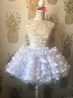 Made To Measure * Sissy Maid * Huge Ten Layer Satin And Organza Petticoat