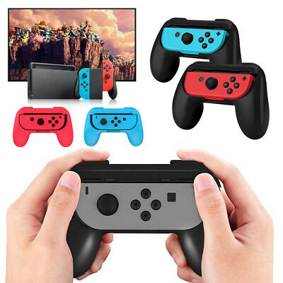 2 Pack Joy-Con Controller Handle Grip For Nintendo Switch Console Holder Bracket