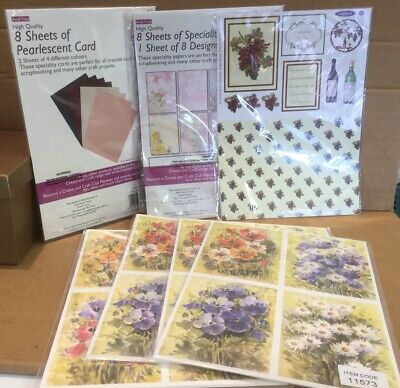 Card Craft Bundle Backing Paper & Card