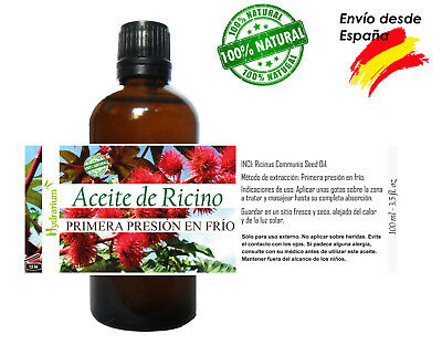 Aceite de Ricino virgen, 100 ml