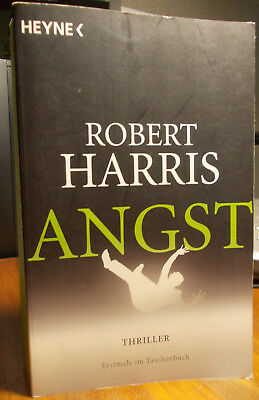 "Robert Harris "" Angst "" Thriller 2014"