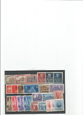 Italie Royaume Lot N° 220 Avec24 Timbres Obliteres