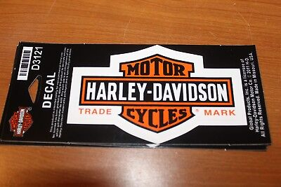 Harley Davidson  Bar & Sheild Decal/Sticker New 4""