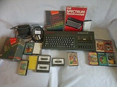 Sinclair ZX Spectrum 128K +2 Grey. Fully Working With RGB Scart for new TVs