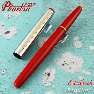 Esterbrook Phaeton Signal Red Fountain Pen Medium E326