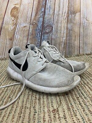a401ea138dd52 Nike Roshe Run One Women s Size 10 Black And White Sneakers Trainers Shoes