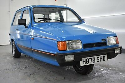 1990 Reliant Robin Lx Fully Detailed And In Ultra Clean Condition With Long Mot