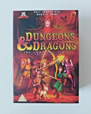 DUNGEONS AND DRAGONS - The Complete Series (DVD, 2004, Animated, 4-Disc Box Set)