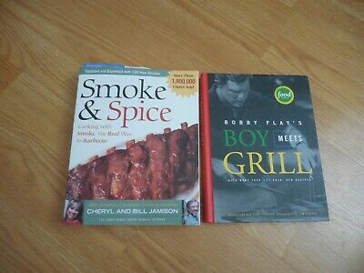 Boy Meets Grille Bobby Flay & Smoke & Spice:Cooking with Smoke, the Real Way to