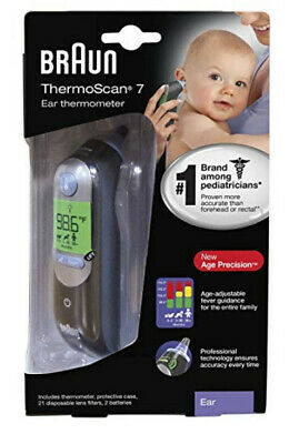 NEW Braun ThermoScan 7 Baby, Adult Professional Digital Ear Thermometer IRT6520