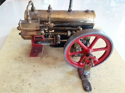 "Little steam engine ""elisabeth apden"" machine a vapeur vive moteur"