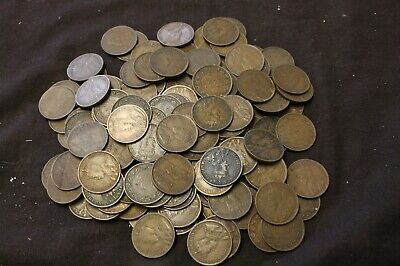 Canada Large cent 1911 - lot of 140 1911 F  to VF+