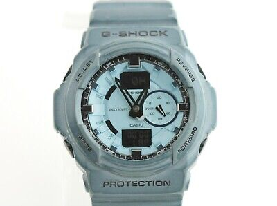 Casio G-Shock GA-150A Classic Blue Shock Resistant Analog Mens Watch WR 200M