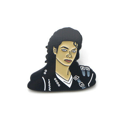 MICHAEL JACKSON PIN Pinback Button Brooch Badge for Women Men Fans Gifts NEW