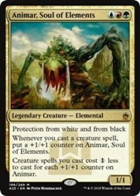 1x Animar, Soul of Elements - Masters 25 - NM-Mint, English
