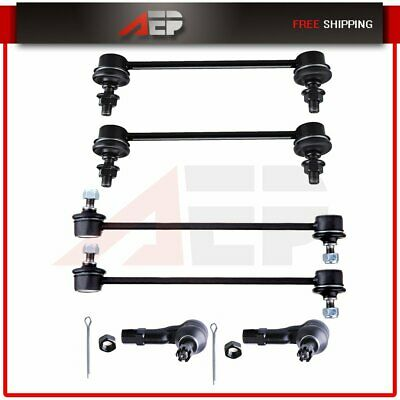 Suspension Front Rear Sway Bar Links Kit 4 Pcs For 2001-2003 Mazda Protege